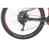 HAIBIKE SDURO HardSeven 6.0 Rower elektryczny Hardtail szary/czerwony